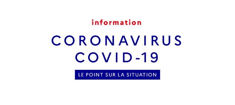 COVID-19 : le point sur la situation