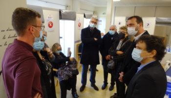 Inauguration du centre de vaccination
